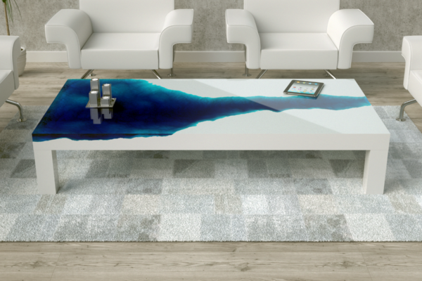 3D Ocean Table Design concept