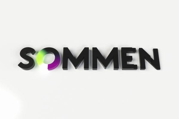 Sommen | 3D logo animatie