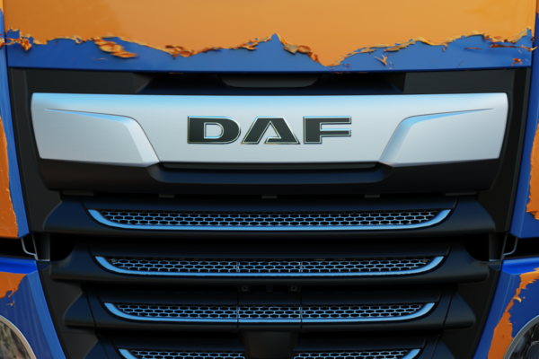 DAF XF SSC new colors Creatiehut