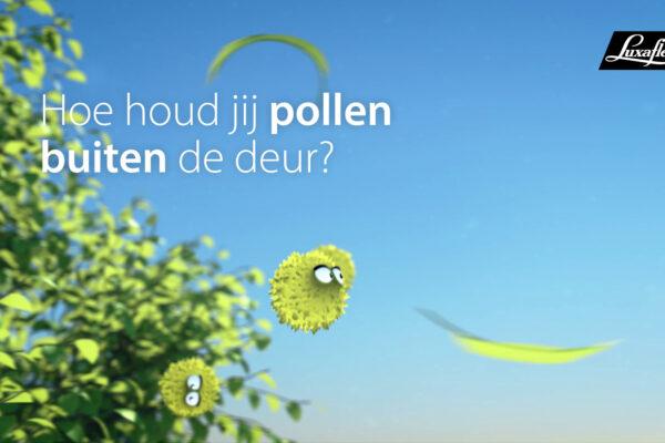 Luxaflex Horren Pollen TVC